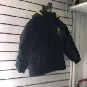 U.S. Polo Assn. size 7 coat black